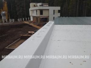 Устройство плоской кровли с покрытием из Мембраны ПВХ в Ильичево