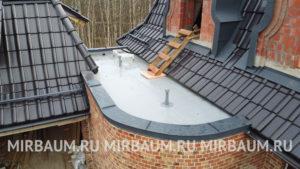Устройство плоской кровли балкона с покрытием из Мембраны ПВХ в Петергоф, Санкт-Петербург
