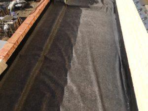 Устройство плоской кровли с покрытием из Мембраны ПВХ в КП Юкковское