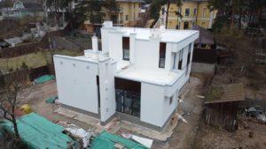 Устройство фасада в Сестрорецке