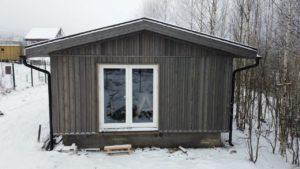 Устройство фасада поселок Орехово